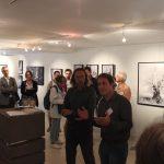 Vernissage exposition Entre Ciel et Terre à Notre Dame de la Croix Marciac avec Alain Canet