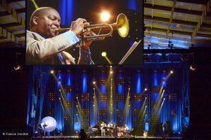 Concert sous le chapiteau de Jazz In Marciac