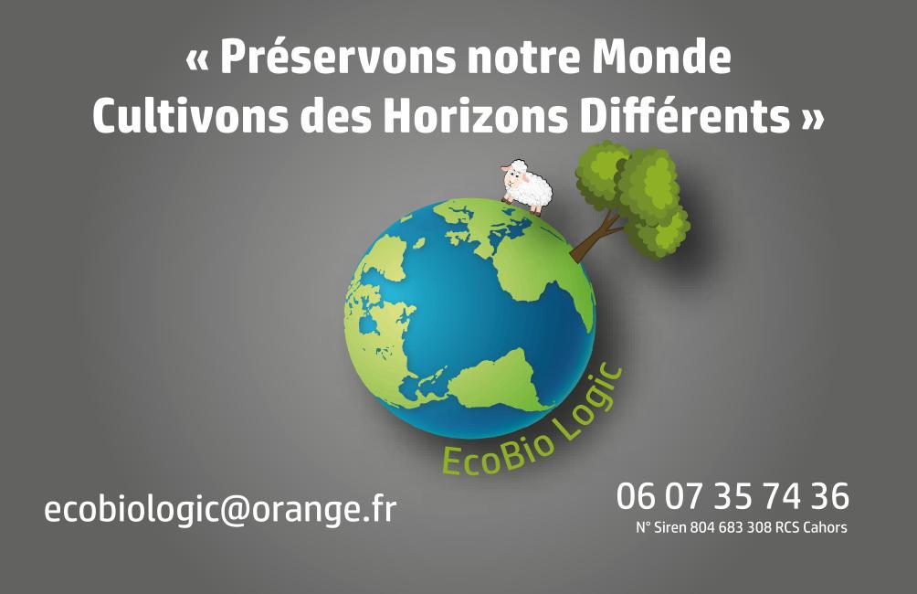 Ecobio Logic : préservons notre monde, cultivons des horizons différents